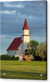 Hogeland Church Acrylic Print