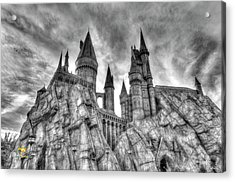 Acrylic Print featuring the photograph Hogwarts Castle 1 by Jim Thompson