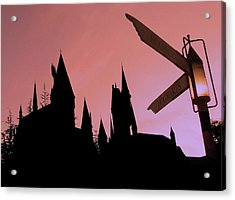Acrylic Print featuring the photograph Hogwarts Castle by Juergen Weiss