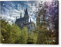 Hogwarts Castle Acrylic Print