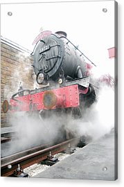 Acrylic Print featuring the photograph Hogwarts Express Train by Juergen Weiss