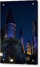 Hogwarts Acrylic Print by Sarita Rampersad