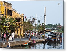 Hoi An Town Vietnam Acrylic Print