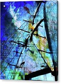 Hoist Acrylic Print by Monroe Snook
