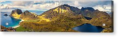 Acrylic Print featuring the photograph Holandsmelen North by James Billings