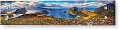 Acrylic Print featuring the photograph Holandsmelen Panorama by James Billings