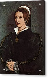 Holbien The Younger Portrait Of Catherine Howard Acrylic Print