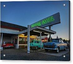 Holbrook Az - Wigwam Motel 010 Acrylic Print by Lance Vaughn