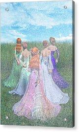 Hold My Hand Acrylic Print by Betsy Knapp