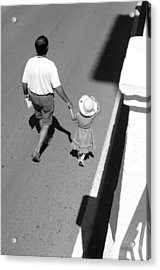 Hold On To Your Hat Acrylic Print by Jez C Self
