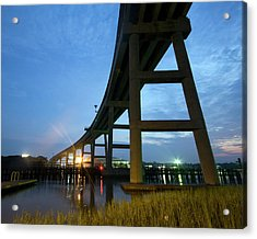 Holden Beach Bridge Acrylic Print