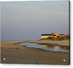 Acrylic Print featuring the photograph Holden Beach Reflections 1 by Alan Raasch