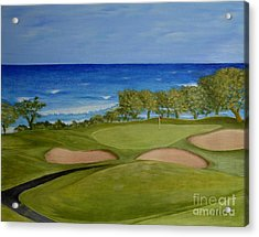 Hole 17 - Wailua Golf Course On Kauai Acrylic Print