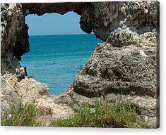 Hole In Rock Acrylic Print