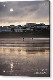 Acrylic Print featuring the photograph Hole In The Clouds by Nicholas Burningham