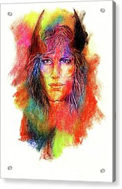 Holi Acrylic Print