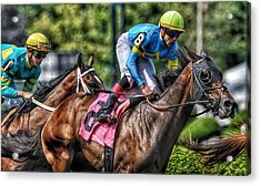 Holiday Bonus With Irad Oriz, Jr. Acrylic Print