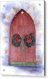 Holiday Chapel Acrylic Print