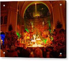 Holiday Decor In The Basilica Acrylic Print