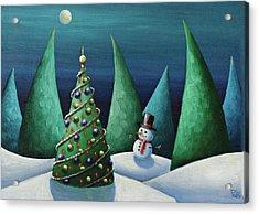 Holiday Delight Acrylic Print by Eva Folks