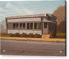 Holiday Diner Acrylic Print by Robert P  Waddington