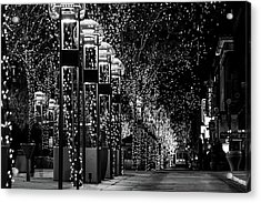 Holiday Lights - 16th Street Mall Acrylic Print