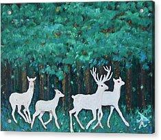Holiday Season Dance Acrylic Print