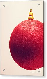 Acrylic Print featuring the photograph Holiday Sparkle by Cindy Garber Iverson