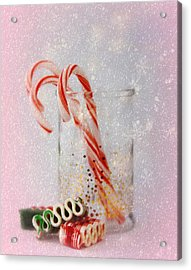 Acrylic Print featuring the photograph Holiday Sweets by Diane Alexander