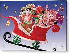 Holiday Twin Delivery Acrylic Print