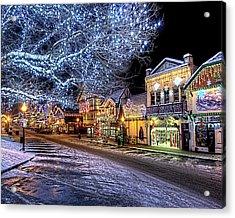 Holiday Village, Leavenworth, Wa Acrylic Print