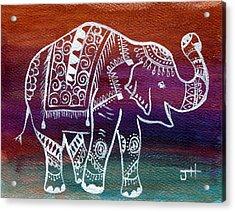 Holi's First Dance Acrylic Print