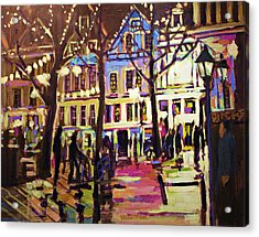 Holland Nights Acrylic Print by Brian Simons