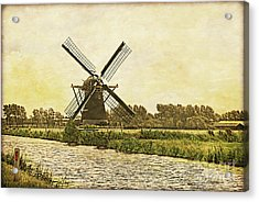 Holland - Windmill Acrylic Print