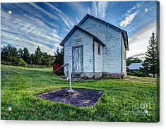 Holleford Schoolhouse Acrylic Print