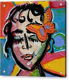 Holly - Vivid Vixen Acrylic Print