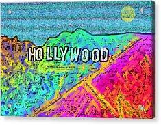 Hollycolorwood Acrylic Print