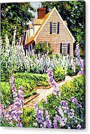 Hollyhock House Acrylic Print