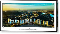 Hollywood Dreaming Poster Print Acrylic Print by Az Jackson