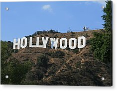 Acrylic Print featuring the photograph Hollywood by Marna Edwards Flavell