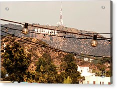 Acrylic Print featuring the photograph Hollywood Sign On The Hill 3 by Micah May