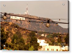 Acrylic Print featuring the photograph Hollywood Sign On The Hill 5 by Micah May