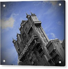 Hollywood Studio's Tower Of Terror Acrylic Print