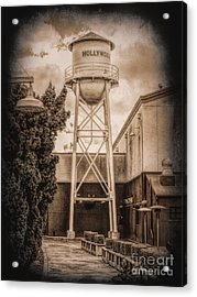 Hollywood Water Tower 2 Acrylic Print