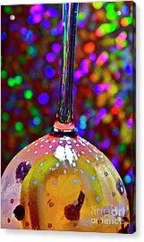 Holographic Fruit Drop Acrylic Print