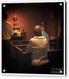 Holy Adoration Altar Acrylic Print