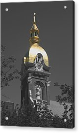Holy Church Of The Immaculate Conception - Colorized Acrylic Print
