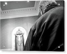 Communion Line Acrylic Print