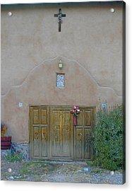 Holy Door Acrylic Print by Joseph R Luciano