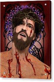 Holy Face Of Ecce Homo Acrylic Print